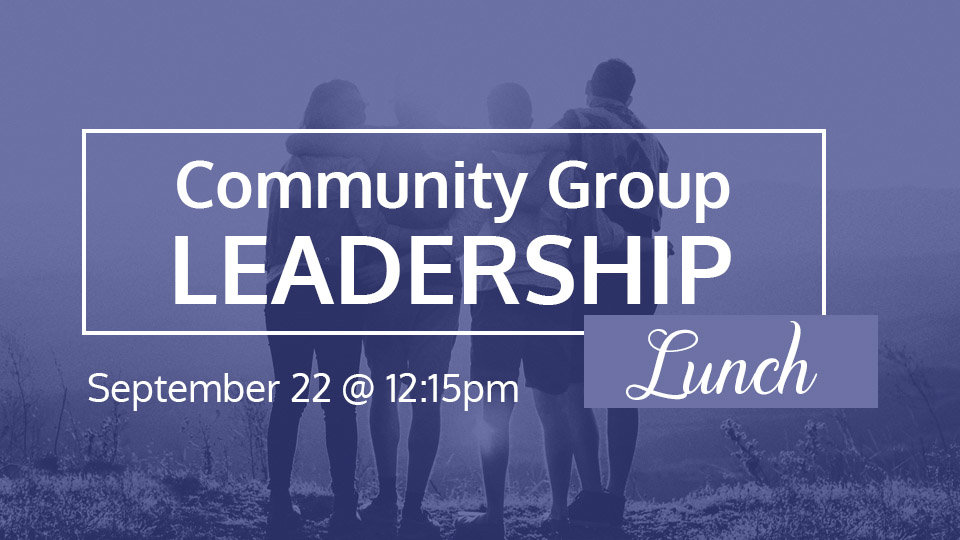 community group leadership lunch 960 x 540