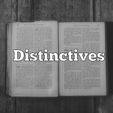 Distinctives
